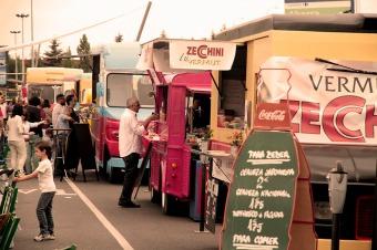 Food Truck operando.