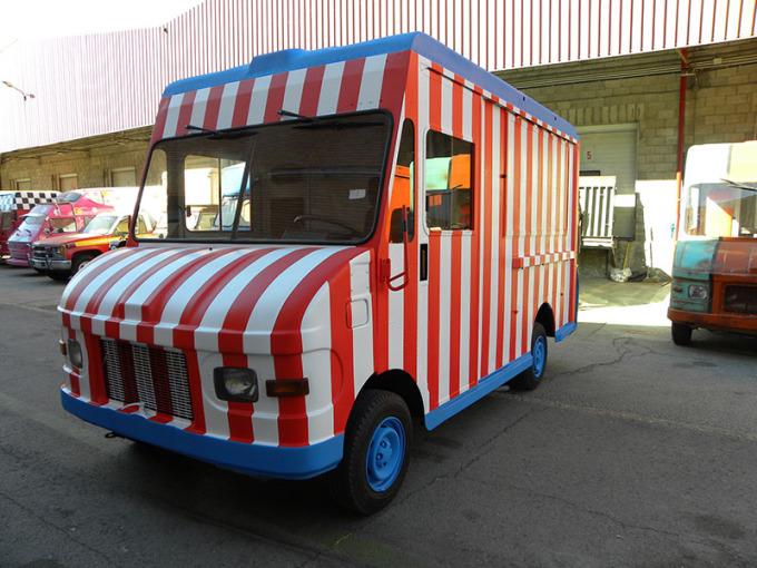 Vehículo terminado (utilizado para el programa Cocineros al Volante).