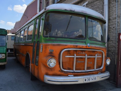 Autobus terminado (Vintage)