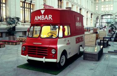 Diseño aplicado de AMBAR a food Truck