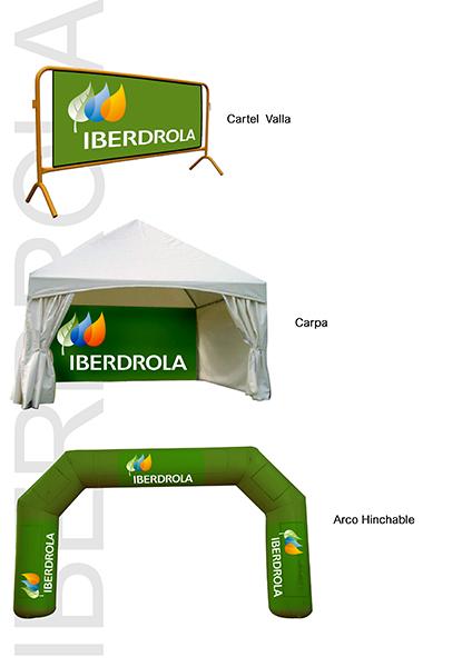 Diseños para Iberdrola (evento La Roja)