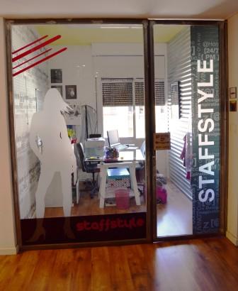 Diseño en vinilo para despacho