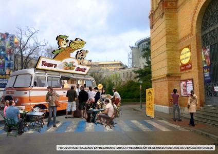 Propuesta para el Museo de ciencias naturales de Madrid.